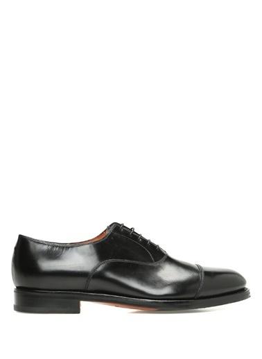 Santoni Deri Ayakkabı Siyah
